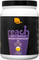 Lean Shake (Zahlers Reach, Whey Protein Shake powder, advanced formula for Lean muscle build, all-natural weight management product, naturally sweetened and flavored, Certified Kosher, #1 best great delicious tasting Vanilla Flavor, 1.1 Pound)