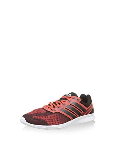 adidas Lite Pacer 3 M, Baskets Basses Homme Rouge - Rouge/noir