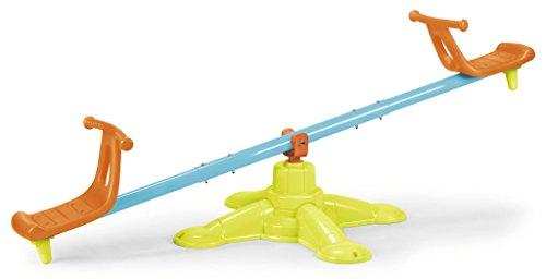 FEBER Famosa 800010243 Wippe 2x1 - Spielzeugwippe, 2 Sitze, für Kinder von 3 bis 6 Jahren - Chrom Moderne Stehleuchte