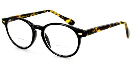 747356f2651 Professor Fashion Bifocal Readers with Vintage Retro Design with a RX-able  frame 49mm x