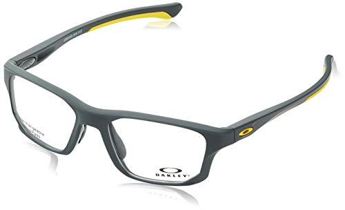 d0e6c618d2 Oakley Crosslink Fit Monturas de gafas, Plateado, 53 para Hombre