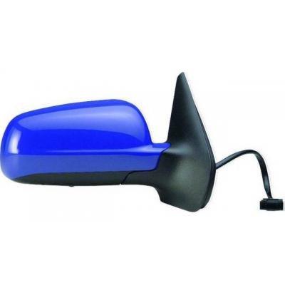 Preisvergleich Produktbild Iparlux 27910764–Spiegel komplett rechts, elektrisch, konvex, Glas blau, Thermo, grundiert, klein