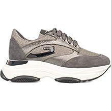 dabbc67e5751 GUARDIANI SD1465C Sneakers Bassa Donna Grigio 40