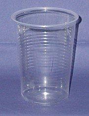 Preisvergleich Produktbild Kunststoff - Plastik Becher klar 400ml 75 Stück Made in Europe