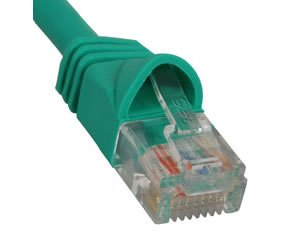 PATCH CORD, CAT 6, MOLDED BOOT, 7' BK (Icc-patch-kabel)