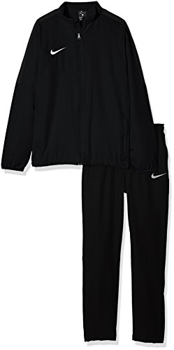 Nike Academy18 Tracksuit, Tuta Bambino, Nero Black/Anthracite/White 010, Medium
