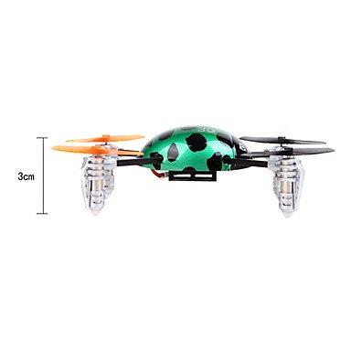 Walkera QR Ladybird V2 Micro Quadcopter Quadrocopter RTF mit Devo4 2,4 Ghz mit Zubehör von notebook-as® - 3