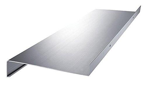 Aluminium Fensterbank Fensterbrett Ausladung 180 mm weiß, silber, dunkelbronze, anthrazit