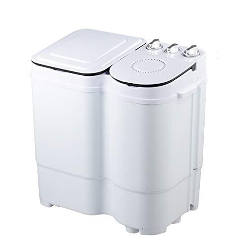 Mini Waschmaschine Kleine Doppelwannen-Tragbare Waschmaschine Und Drehtrockner 2.5KG / 5.5Lbs Waschende KapazitäT Blu-Ray Uv Bakteriostatischer Wohnungs-Schlaf Kompakt Und Dauerhaft