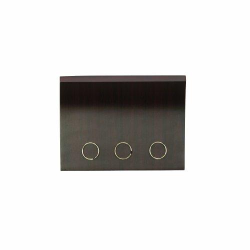 umbra-magnetter-wall-mounted-key-letter-organiser-espresso