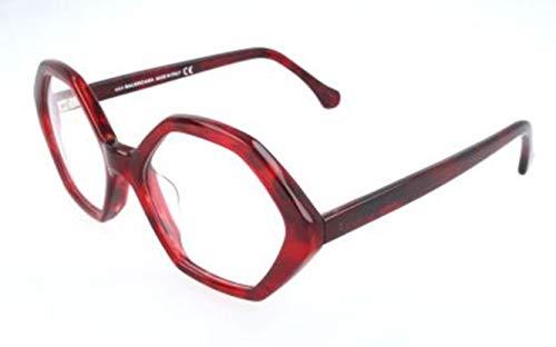 Balenciaga Damen BA5030 068-56-19-145 Brillengestelle, Rot, 56