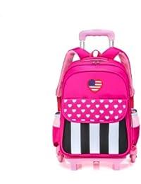 Los niños de la Escuela Primaria 6 Rondas Trolley Bag los niños de 1-6