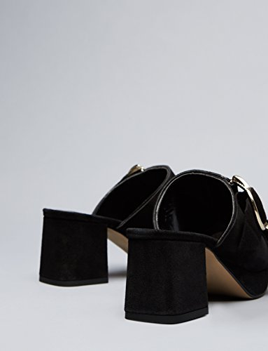 FIND Sabot con Tacco Donna Nero (Black)