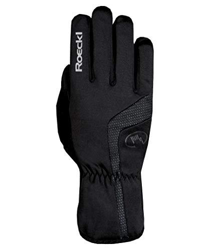 Roeckl Reinbek Winter Fahrrad Handschuhe lang schwarz: Größe: 7