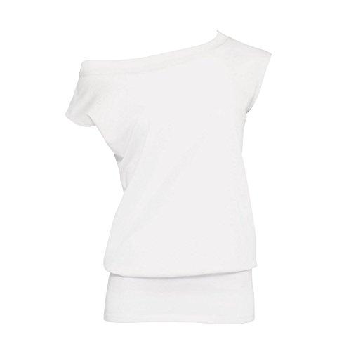 B&C Damen Love Madness T-Shirt / Tunika, ärmellos Schwarz