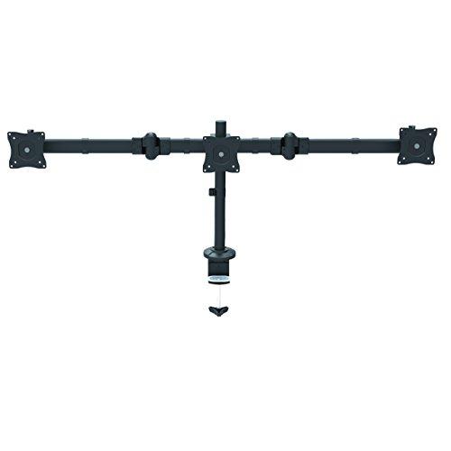 """StarTech.com Dreifach Monitorarm für Surround Setup - Unterstützt 3 monitore bis zu 24\"""" - Werkzeuglose Höhenverstellung"""