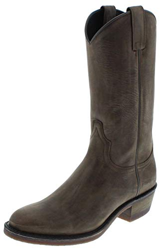 Sendra Boots Damen Cowboy Stiefel 5588 Grafit Lederstiefel Grau 41 EU