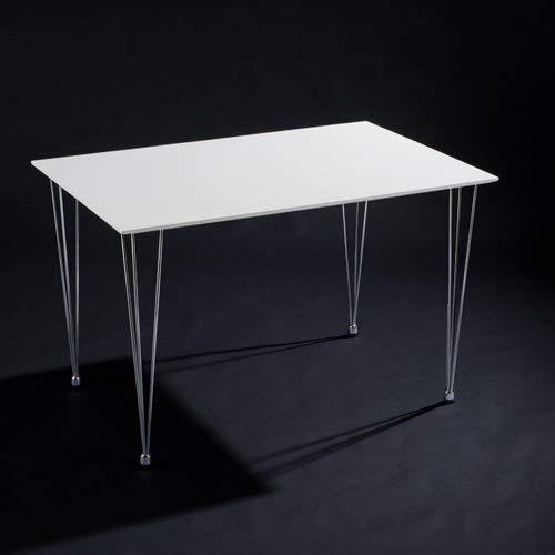 Unbekannt Esstisch, weiß lackiert Küchentisch KOPENHAGEN