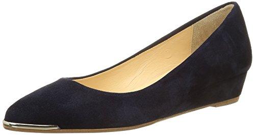 JONAK 11417, Ballerine Donna Bleu (Velours Bleu)
