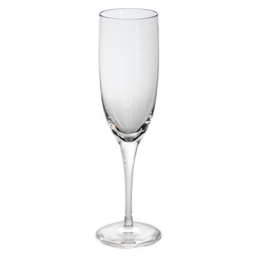 Cristal de Sèvres Andre Chenier Set de Verres de Champagne, Verre, 6 x 6 x 21 cm, Lot de 2