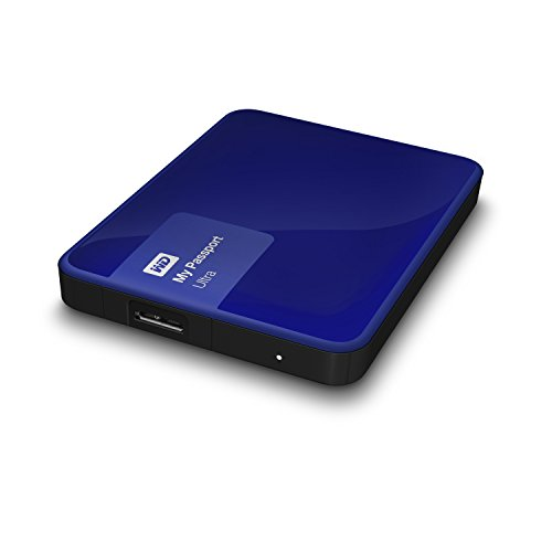 Western Digital My Passport Ultra 500 GB Externe Festplatte (bis zu 5 Gb/s, USB 3.0) königsblau