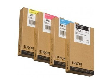 Epson Stylus Pro 9880 (T6128 / C 13 T 612800) - original - Tintenpatrone schwarz matt - 220ml -