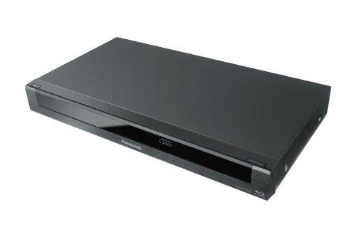 Panasonic DMR-BCT730EG Blu-ray Recorder mit Twin HD (DVB-C Tuner, Full HD, 6x Speed, BD-R DL, 500GB Festplatte, 2x CI+)  schwarz