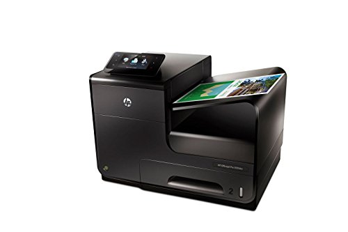 HP Officejet Pro X551dw All-in-One Multifunktionsdrucker (A4, Drucker, Scanner, Kopierer, Fax, Dokumentenecht, Wlan, USB, 2400x1200) schwarz - Drucker-scanner-mac-kompatibel