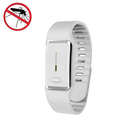 Faviye Bracelet Anti-Mosquito Ultrasonic Reloj electrónico Inteligente para Mosquitos para protección en Interiores y Exteriores