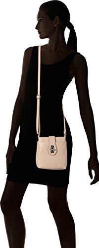 Bags4Less - Rania, Borse a tracolla Donna Rosa (Nude)