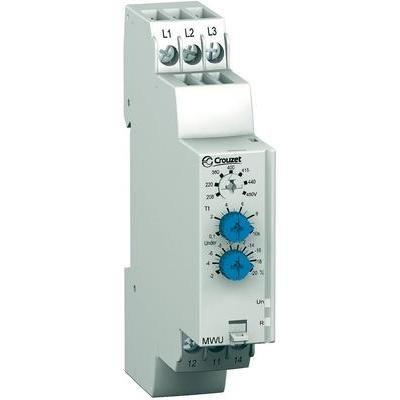 CROUZET C-LYNX - RELE CONTROL FASES MWU 3X208-3X480V