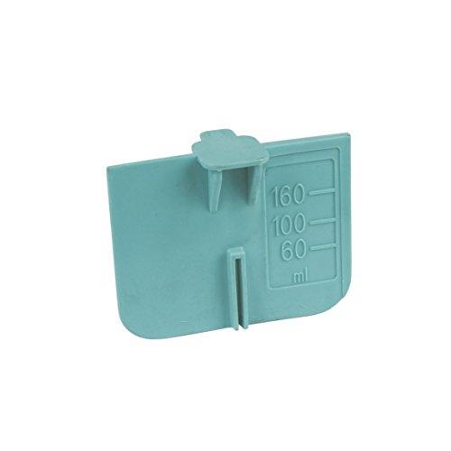 Bauknecht 481241888018 ORIGINAL Flüssig Waschmittel Einsatz Stauklappe Rückhalter Trennklappe Grün Einspülschale Kammer Schublade Waschmaschine auch Friac Hanseatic Laden IKEA Whirlpool Ignis