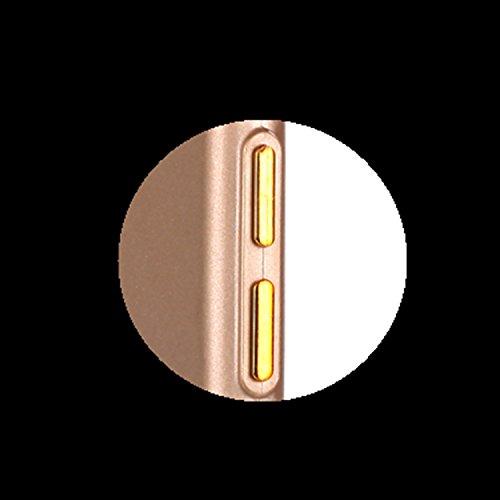 iPhone 6S Custodia, iPhone 6 Cover, JAWSEU Ultra Sottile Slim Fit Morbida Silicone per iPhone 6S / iPhone 6 Custodia Cover Case Puro Colore Matte Gomma Gel TPU Custodia Flessibile Liscio Caso Antiurto Puro Oro