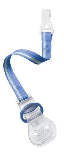 Preisvergleich Produktbild Philips AVENT SCF185/00 Beruhigungssauger-Clip für Neugeborene, grün/rosa/blau (farblich sortiert)