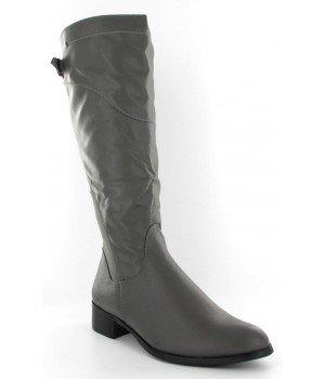 Chaussure Bas Prix - Bottes femme grises - C380-1-2 Gris