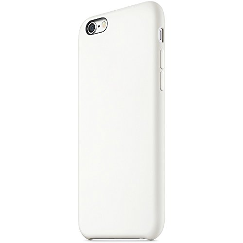 "iProtect® Apple iPhone 6 (4,7"") 6s Hülle Silikon Soft Case weiß Silikon Soft Case Weiß"
