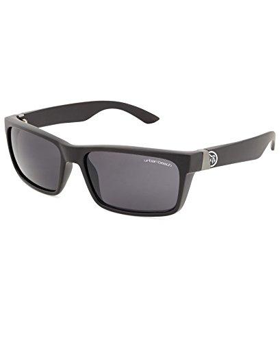 Urban Beach Herren Buddy Retro Sonnenbrillen schwarz, M