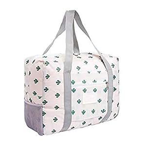 06a93aba3618 Women Men Large Travel Bag Waterproof Packing Cubes Weekend Beach ...