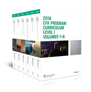 2018 CFA Level 1 Curriculum (Set of 6 books) + Question Bank CD (Eligible only with purchase from Way2success)