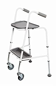 NRS Duo 200 Walking Trolley (Choose White or Red)