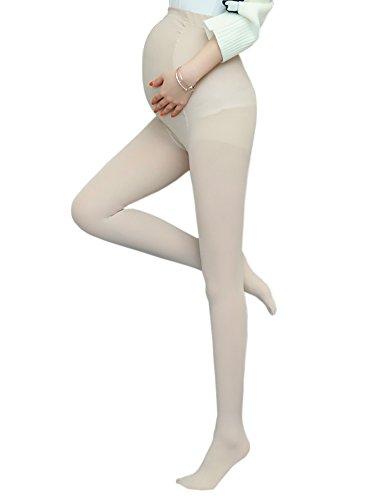 Vellette Umstandsmode Strumpfhosen Umstand Strumpfhose Strümpfe für Damen 120D (Strumpfhosen Mutterschaft)