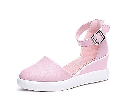pompa-65-centimetri-tacco-a-cuneo-rosa-dorsay-traspirante-gli-sport-scarpe-casual-donne-dolce-punta-