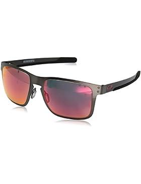 Oakley 412305, Gafas de Sol para Hombre, Matte Gunmetal, 55