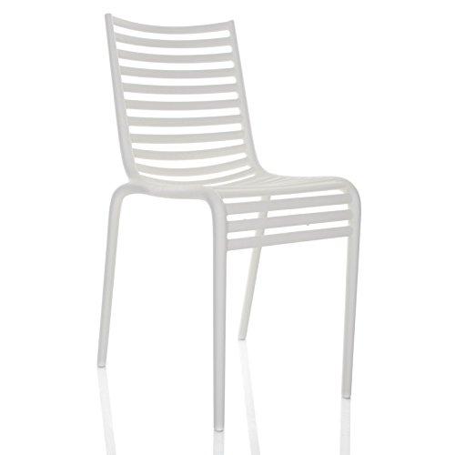 Pip-e - Chaise blanc/mat