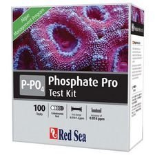 Red Sea Fish Pharm ARE21425 Saltwater Phosphate Pro Test Kit for Aquarium, 100 Tests by TopDawg Pet Supply -