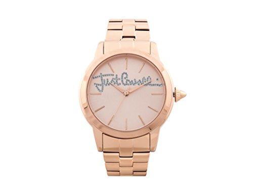 Just Cavalli Reloj Analógico para Mujer de Cuarzo con Correa en Acero Inoxidable JC1L006M0105