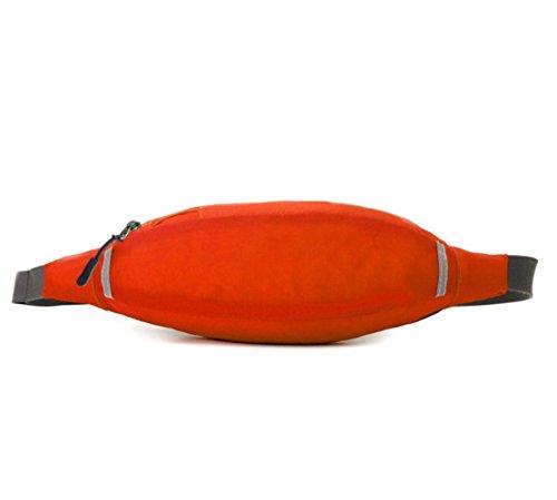 Super Licht Multifunktions-tragbare Reise Reiten Sport Wasserdichte Taschen Orange