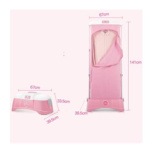 Duanjy essiccatore riscaldante, pieghevole, versatile, intelligente, elettrico per uso domestico, da interno o da letto (colore : pink)