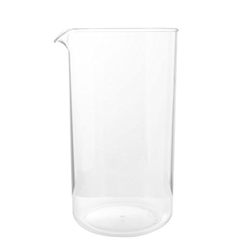 First4Spares CMP005infrangibili bicchiere di ricambio per Bodum caffè presse e cafetieres-8Cup, plastica, trasparente