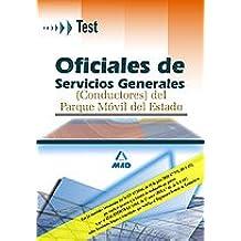 Oficiales de servicios generales (conductores) del parque móvil del estado. Test